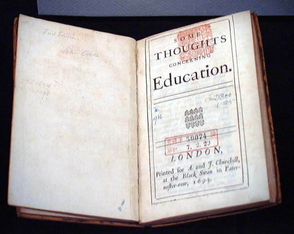 john locke thoughts concerning education pdf